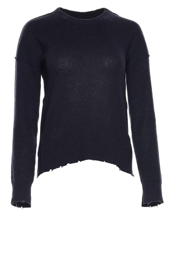 Cici Star Patch Cashmere Sweater