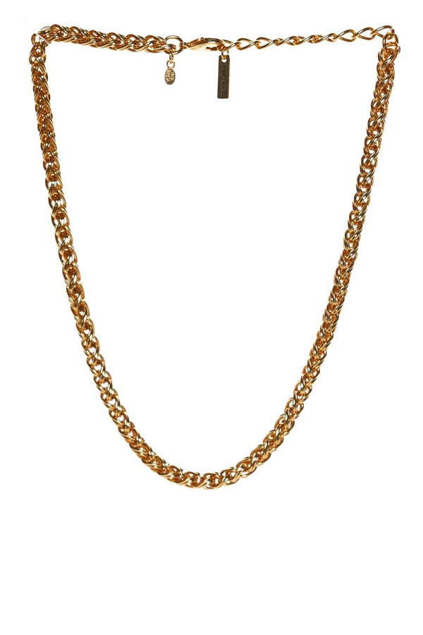 Jennifer Behr Paxton Gold Chain Link Necklace
