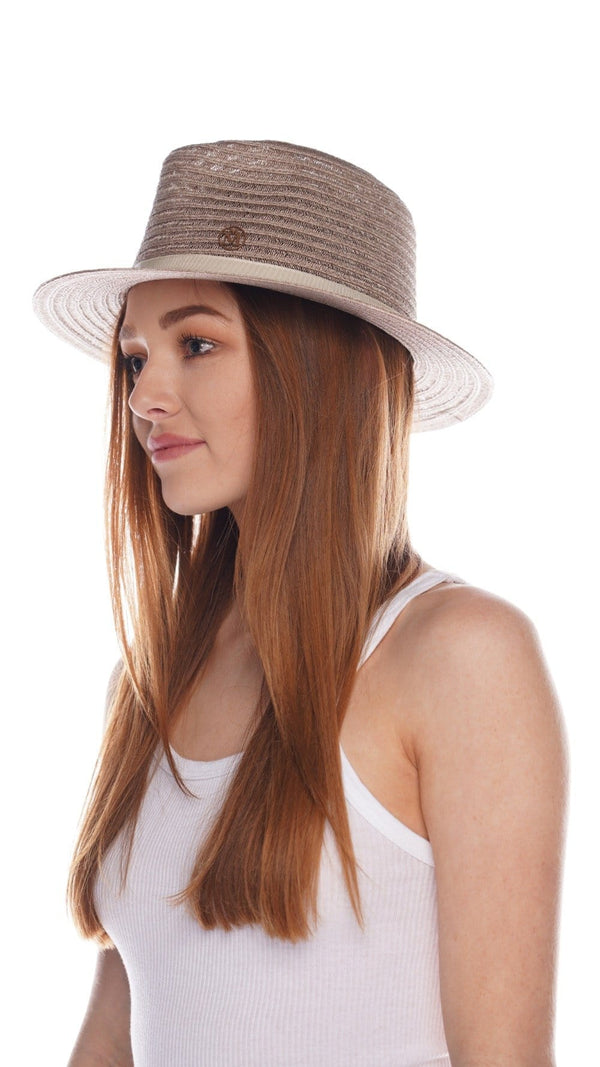 Andre Beige Straw Sunhat
