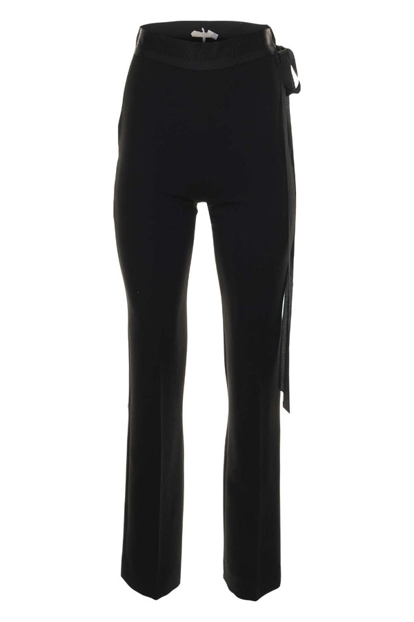 UNTTLD Black Straight Leg Trouser