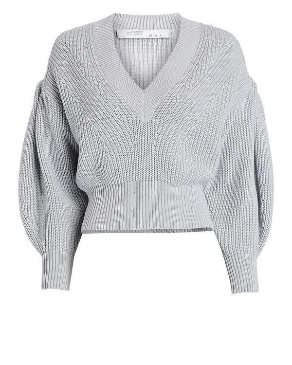 IRO - Kiria Knit Full-Sleeve Cropped Sweater