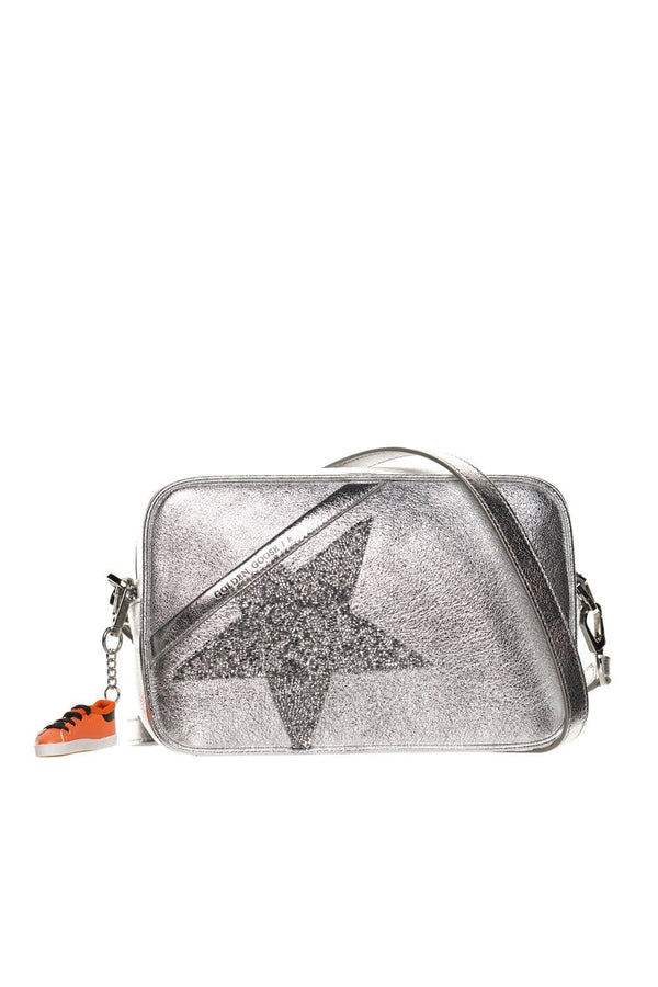 Logo Swarovski Crystal Star Crossbody Bag