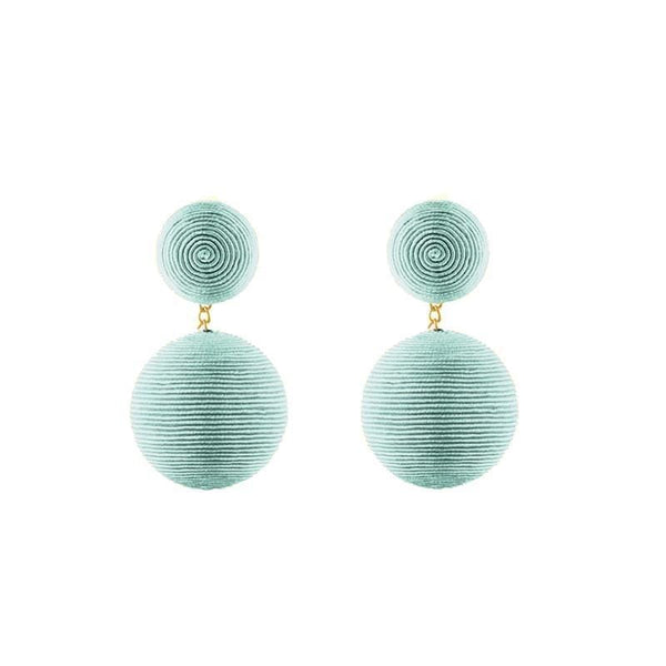 REBECCA DE RAVENEL Classic 2 Drop Bon Bon Earrings