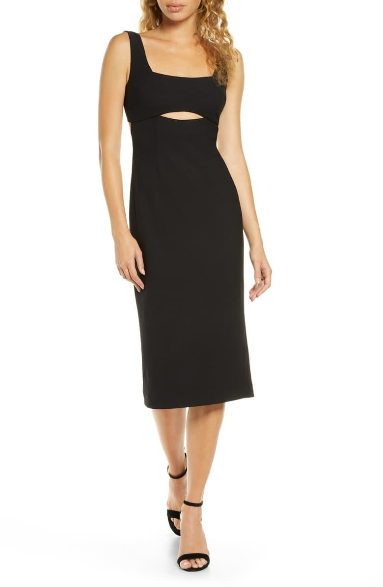 Nadia Cut Out Midi Dress