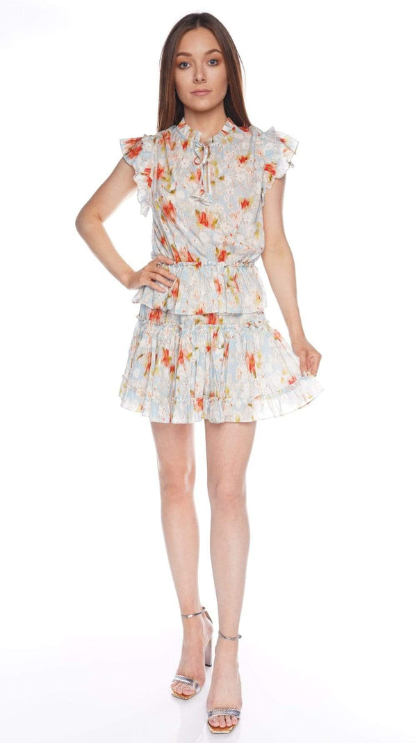 Lilian Daydream Floral Mini Dress