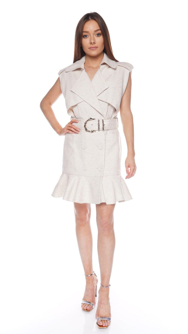 Hanbury Belted Mini Shirt Dress