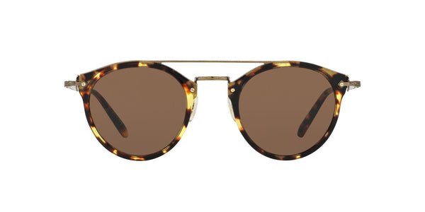 OLIVER PEOPLES - Remick Gold Sunglasses