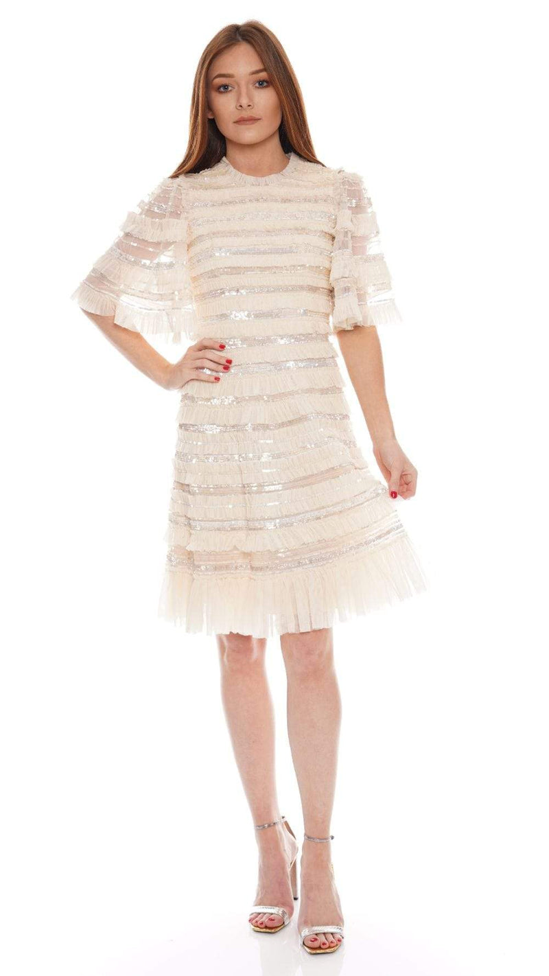 Needle & Thread - Nancy Frill Short Sleeve Mini Dress