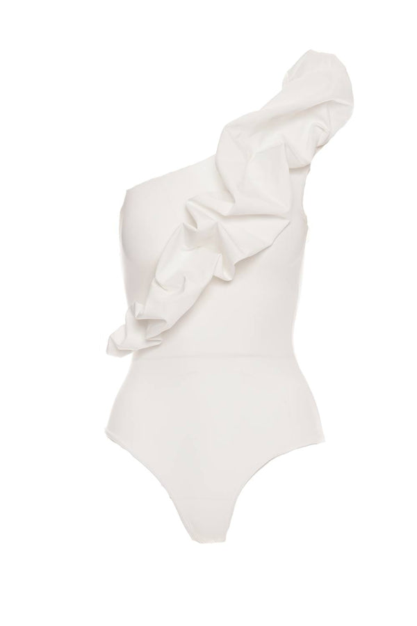 Maygel Coronel - Elena Cloud White One Piece