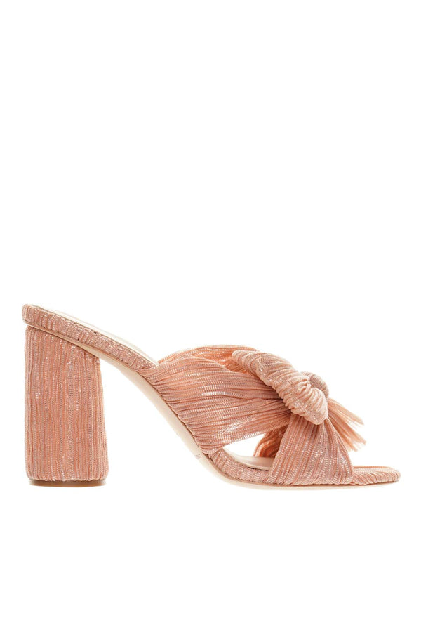 Loeffler Randall Peach Penny Knotted Mule