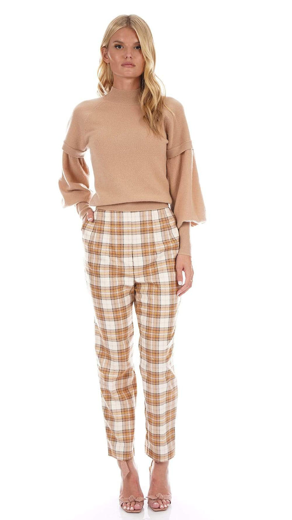 Acler - Nordek Plaid Straight-Leg Pants