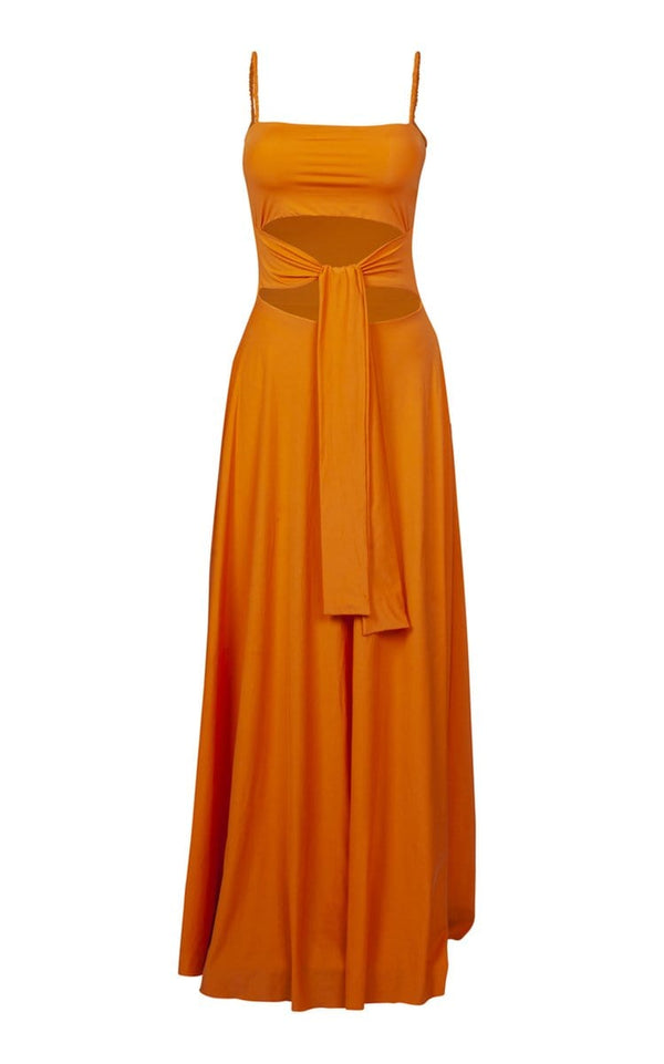 Vanessa Reversible Cutout Maxi Dress