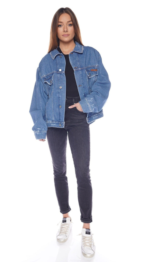 Babette 'Do What You Love' Denim Jacket