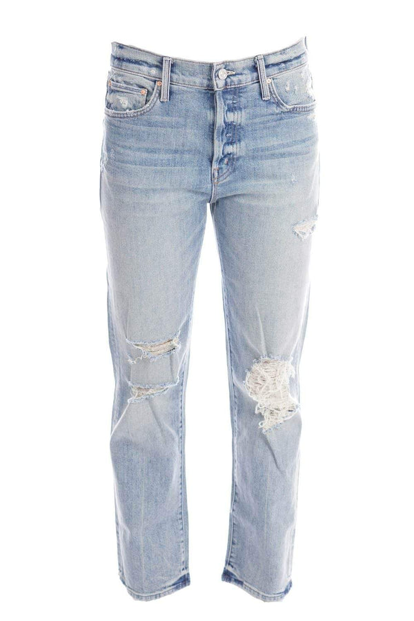 MOTHER Denim - The Scrapper Wicked Wild Calling Ankle Jeans