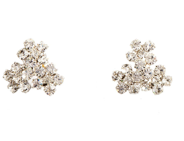 Jennifer Behr Violet Crystal Stud Earrings