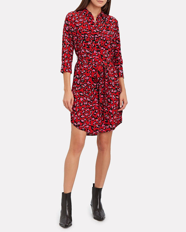 L'AGENCE - Stella Short Shirt Dress