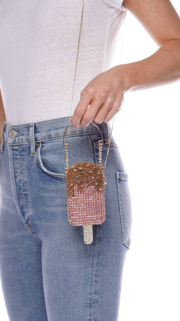 ROSANTICA Goloso Crystal Popsicle Crossbody Bag