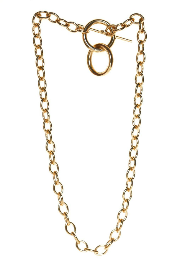 Loren Stewart Anais Gold Toggle Chain Necklace