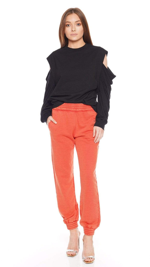 Sydney Faded Orange Sweatpants