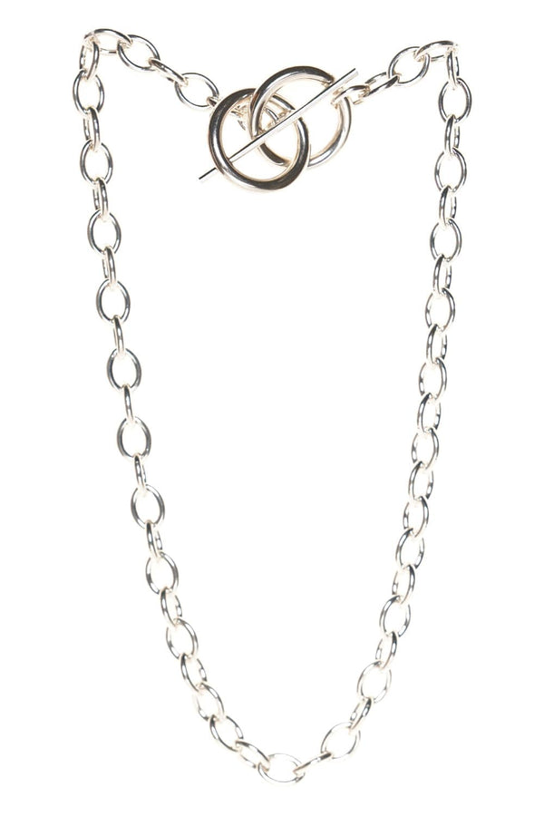 Loren Stewart Anais Silver Toggle Chain Necklace