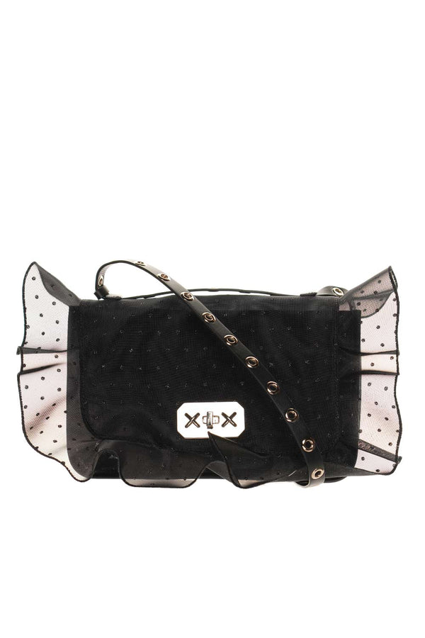 Rock Ruffles Point d'Esprit Crossbody Bag