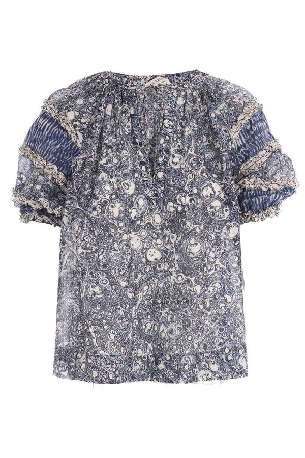 Ulla Johnson - Aiko Puff Sleeve Sleeve Top