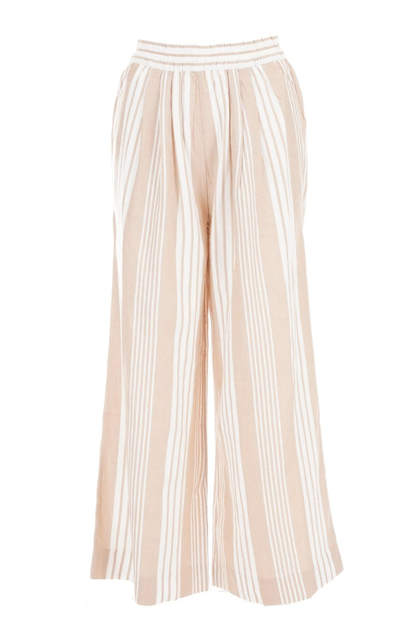 Paloma White Sand Wide Leg Pants