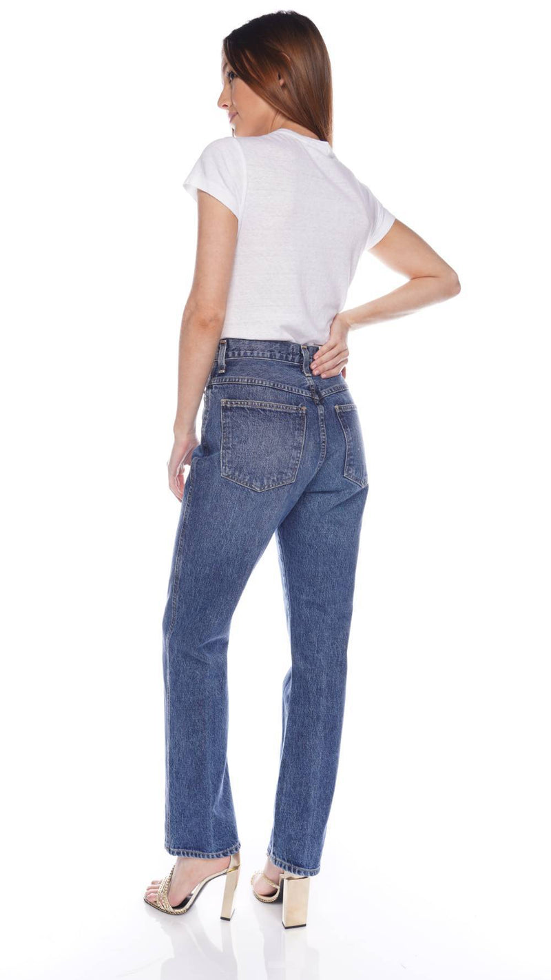 AGOLDE Pinch Waist Placebo High-Rise Straight Jeans