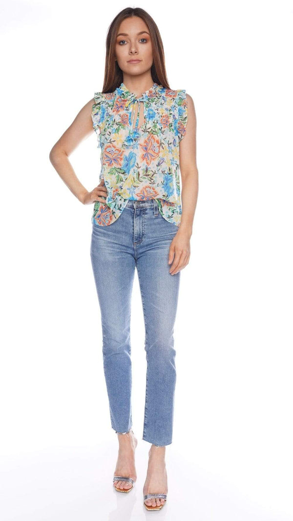 Agot Oasis Floral Sleeveless Top