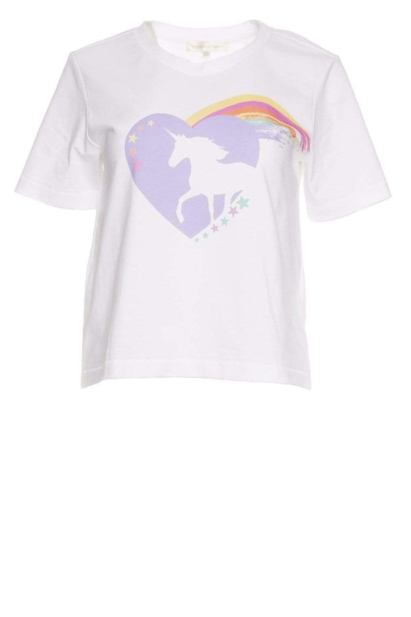Calix White Lightening Unicorn Tee