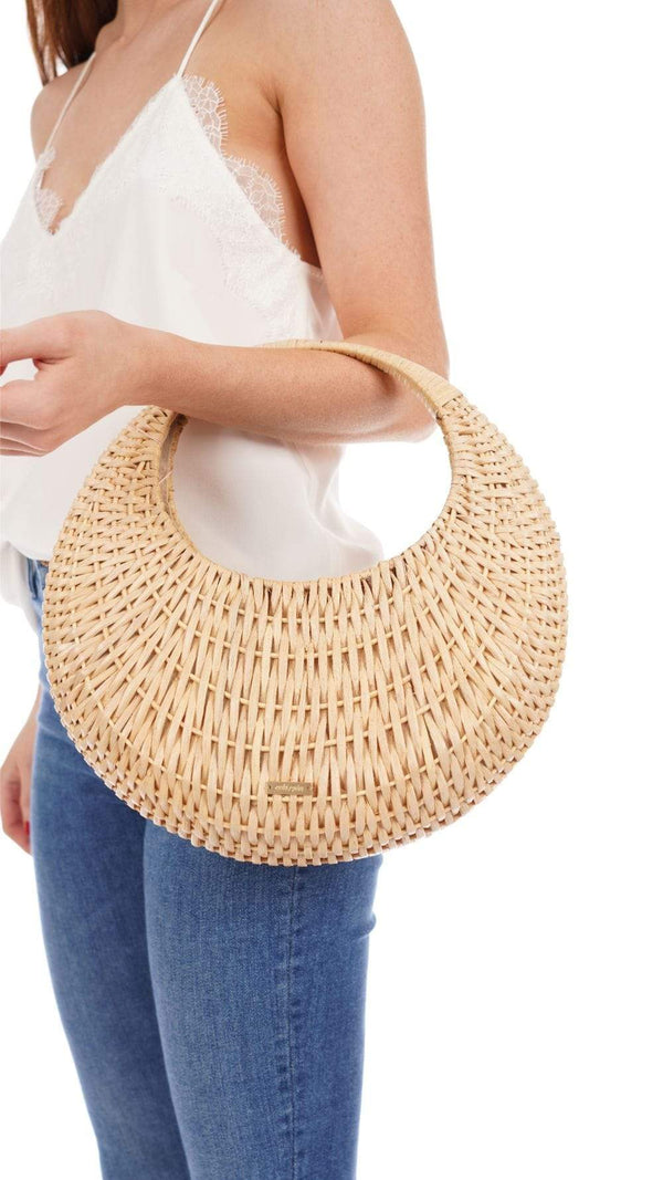 Cult Gaia - Taja Natural Top Handle Bag