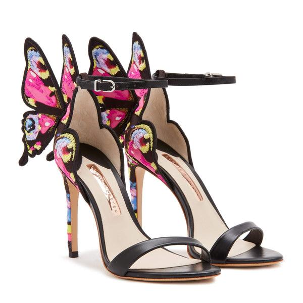 Sophia Webster Chiara Butterfly Embroidered Sandal