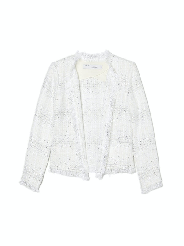 Uptown White Shimmer Jacket