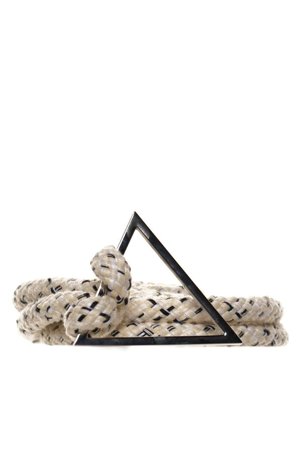 Dobla Triangular Cotton Rope Belt