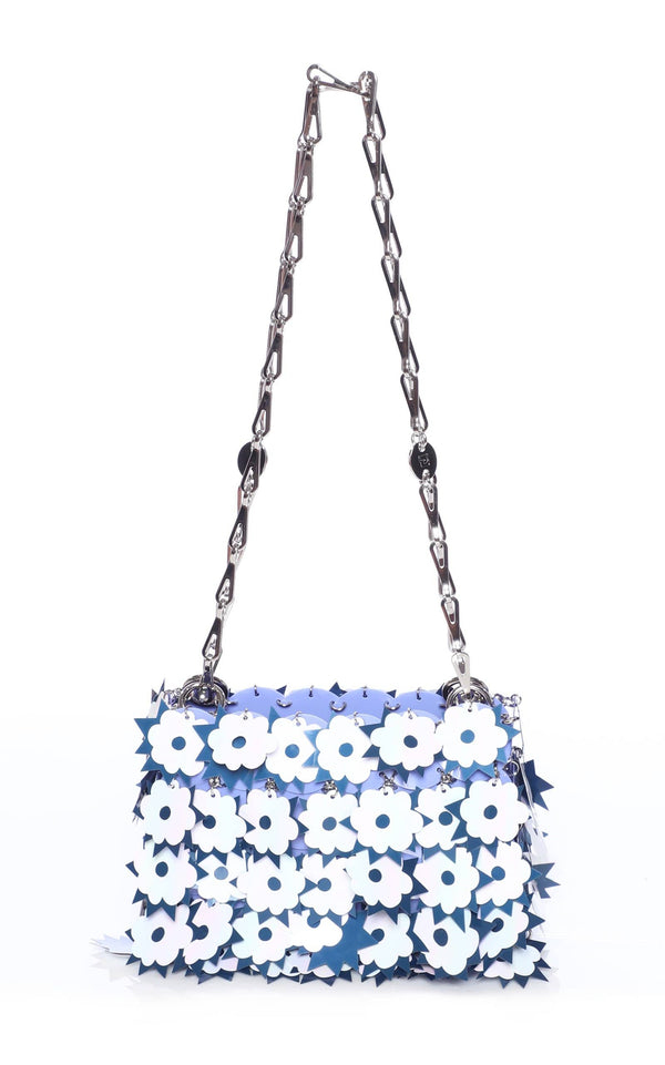 Paco Rabanne - Blue Sparkle Nano Shoulder Bag