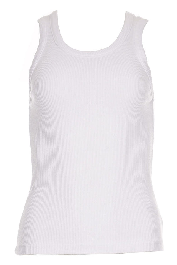 Poppy Off White Tank
