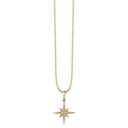 Sydney Evan - Starburst Charm Necklace