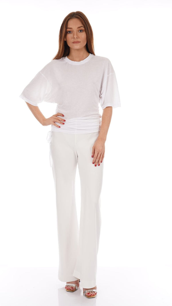 Cult Gaia - Kersti Dove Wide Leg Pants