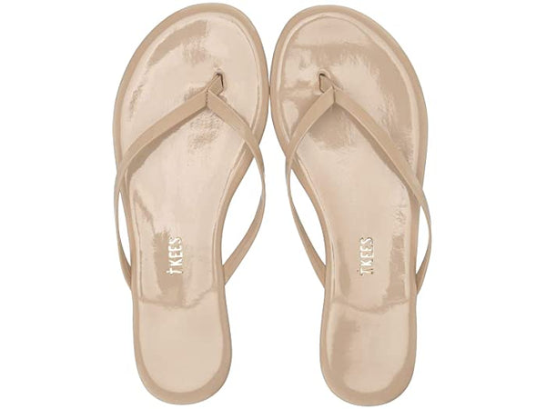 TKEES - Glossy Seashell Thong Sandal