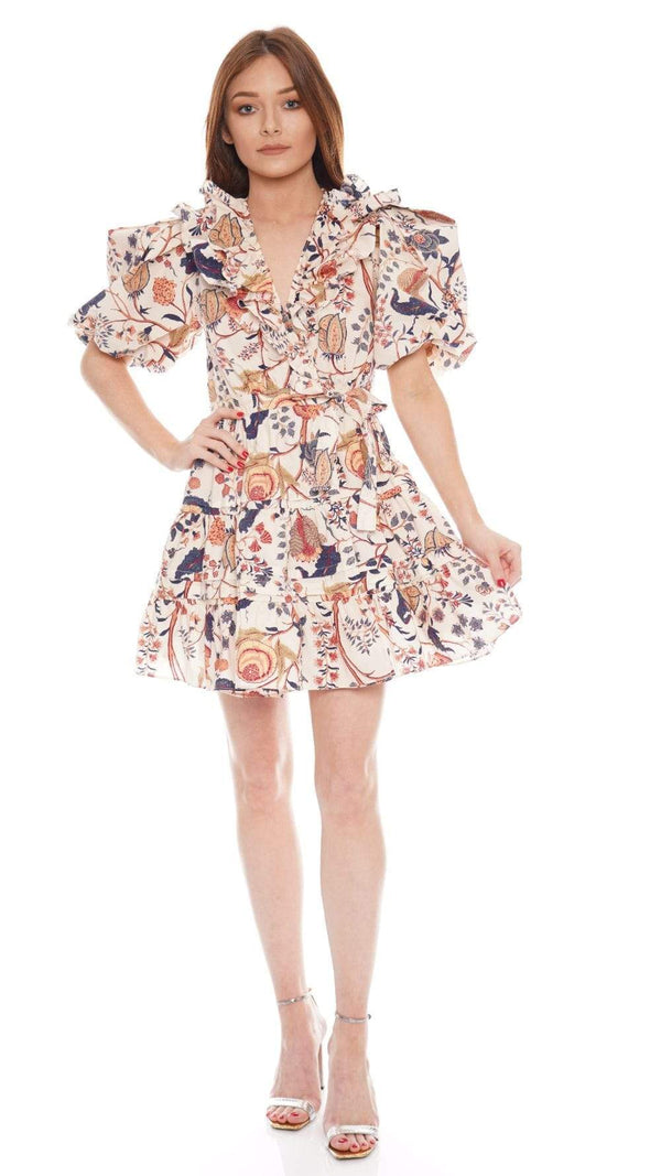 Ulla Johnson - Maude Ruffled Mini Wrap Dress