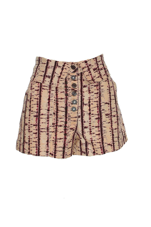 Ulla Johnson - Kase Tie Dye Denim Shorts