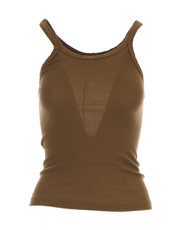 RE/DONE - Army Green Ribbed Tank