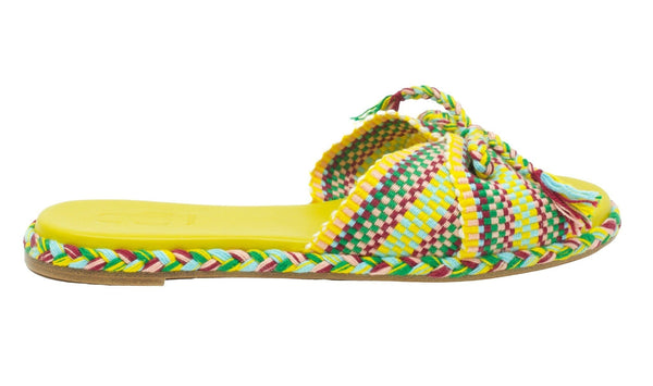 Antolina - Felix Slide - Yellow Multi