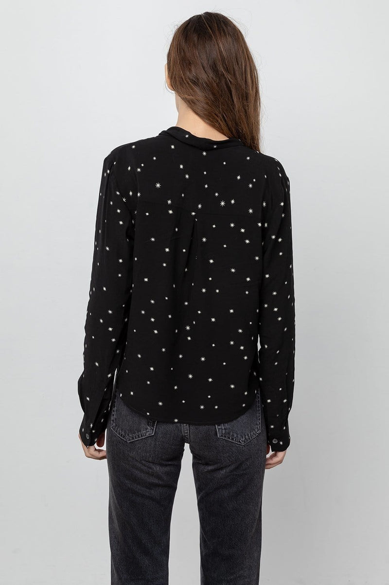 RAILS - Ava Onyx Starburst Shirt