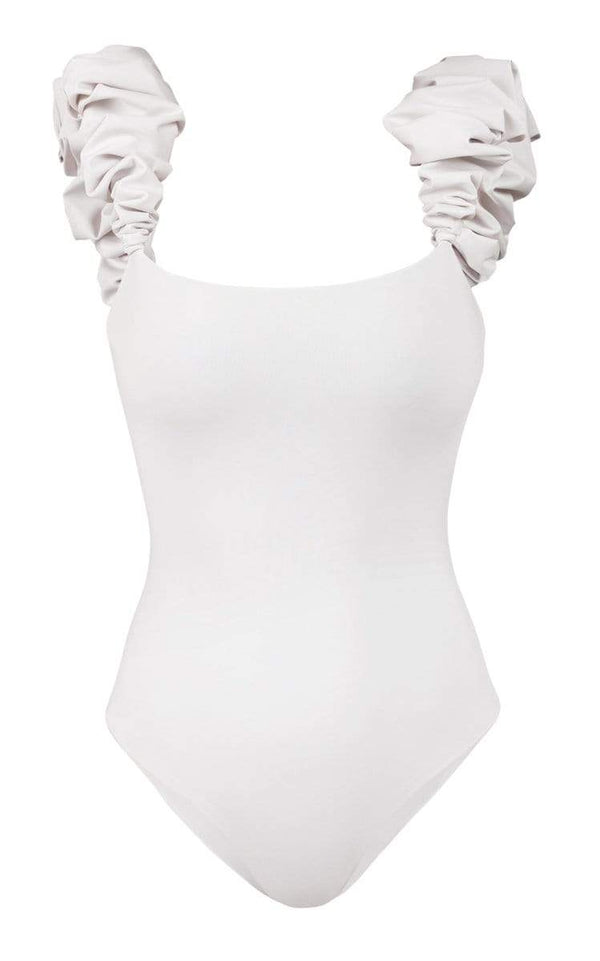 Maygel Coronel - Denise Cloud White One Piece
