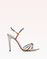 Alexandre Birman - Rebecca Ankle Tie Sandal in Rainbow