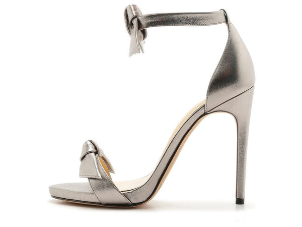Alexandre Birman Clarita Graphite Bow Stiletto