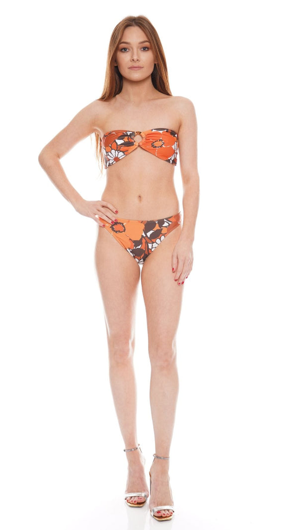 Faithfull The Brand - Malady Isola Floral Bikini Top