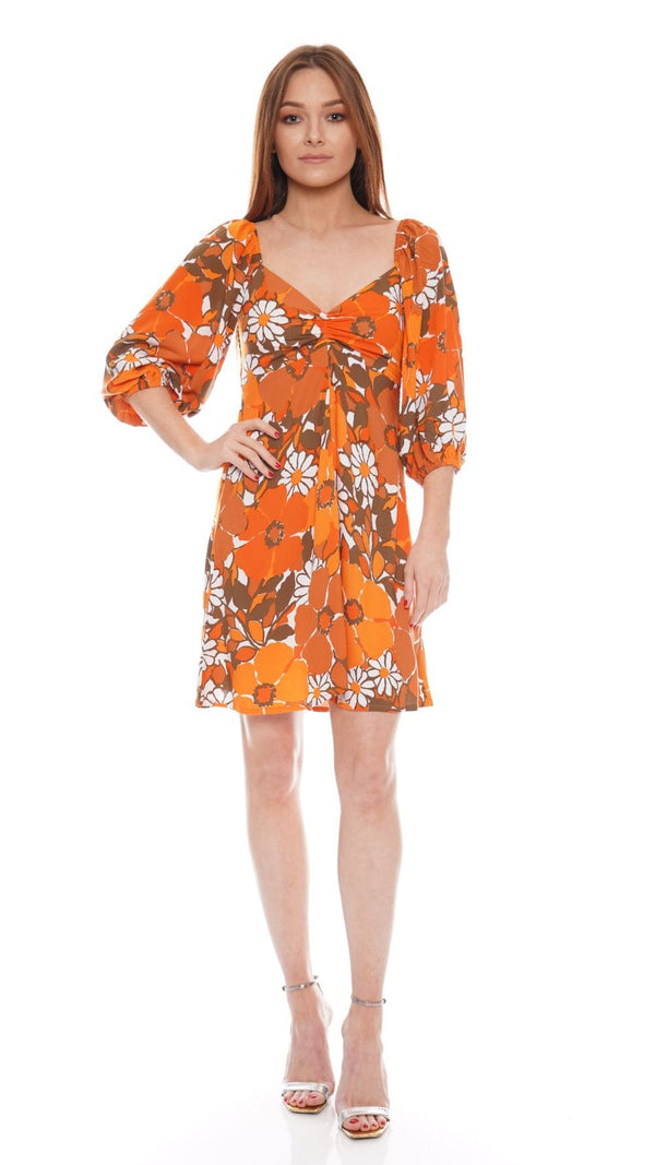 Faithfull The Brand - Martine Isola Floral Mini Dress