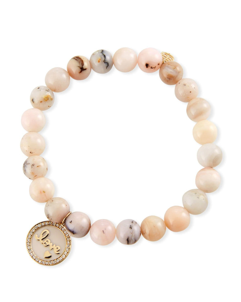 Sydney Evan Tableau Love Medallion Bracelet